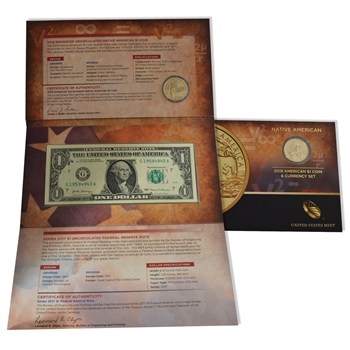 2019 Native American Coin & Currency