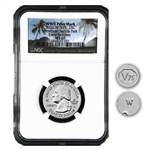 2020 W Samoa Baby Bat Quarter - NGC 67 Early Release