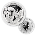 2020 Star Wars 1 oz Silver - Boba Fett - Uncirculated
