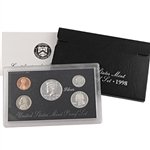 1998 US Silver Proof Set - Modern