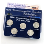1999 Quarter Mania Uncirculated Set - Philadelphia Mint