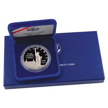 1986 Statue Of Liberty Silver Dollar Proof