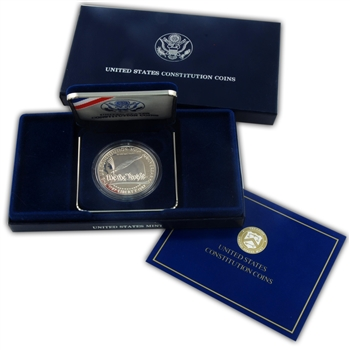 1987 Constitution Silver Dollar Proof