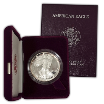 1986 Silver Eagle Government Issue - Proof