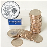 2000 South Carolina Quarter Roll - Philadelphia Mint