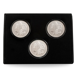 1921 Morgan Dollar PDS Set - Uncirculated