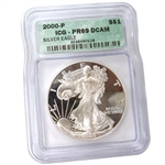 2000 Proof Silver Eagle - Certified 69