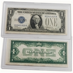 1928 $1 Silver Certificate - Funny Back - Circulated