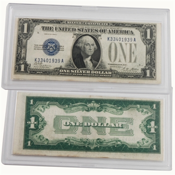 1928 1 Silver Certificate Funny Back Circulated