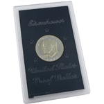 1974 Eisenhower Dollar - San Francisco - Silver Proof - Brown Pack