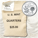 2000 South Carolina $25 Government Bag Denver Mint Quarters – Uncirculated