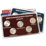2000 Quarter Mania Set - Philadelphia and Denver Mint