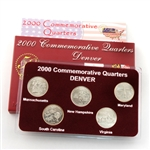 2000 Quarter Mania Uncirculated Set - Denver Mint