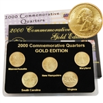 2000 Quarter Mania Uncirculated Set - Gold - P Mint