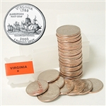 2000 Virginia Quarter Roll - Denver Mint