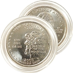 2000 New Hampshire Uncirculated Quarter - Denver Mint