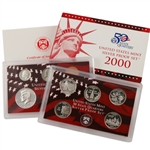 2000 US Silver Proof Set - Modern (10 pc)