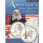 2001 New York State Quarter Album