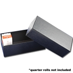 Roll Box - Quarter - Holds 10 Rolls