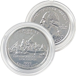 1999 New Jersey Platinum Quarter - Denver Mint