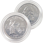 2000 Massachusetts Platinum Quarter - Denver Mint