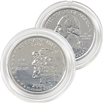 2000 New Hampshire Platinum Quarter - Denver Mint