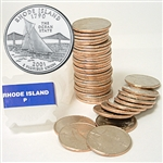 2001 Rhode Island Quarter Roll - Philadelphia Mint