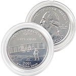 2001 North Carolina Platinum Quarter - Denver Mint