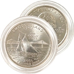 2001 Rhode Island Uncirculated Quarter - P Mint