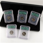 2001 Quarter Proof Set - Certified 69