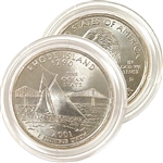 2001 Rhode Island Uncirculated Quarter - Denver Mint