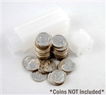 Coin Tube - Quarter (Holds 40 coins) -  24.3 mm - Quantity 1