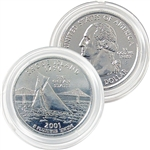 2001 Rhode Island Platinum Quarter - Denver Mint