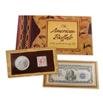 2001 Buffalo Dollar Coin & Currency Set