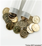 Coin Tube - Nickel (Holds 40 Coins) - 21.2 mm - Qty 1