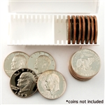 Coin Tube - Silver Dollar ( SS Round - Holds 20 Coins )