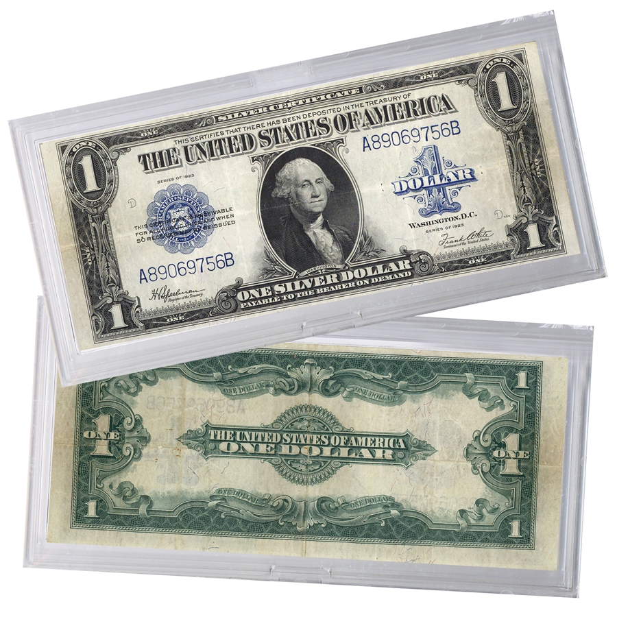 Americas Last Jumbo 1923 Large 1 Silver Certificate