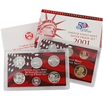 2001 US Silver Proof Set - Modern (10 pc)