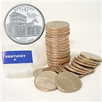 2001 Kentucky Quarter Roll - Philadelphia Mint