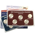 2001 Quarter Mania Set - Philadelphia and Denver Mint