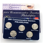 2001 Quarter Mania Uncirculated Set - Philadelphia Mint