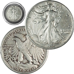 Walking Liberty Half Dollar - Circulated