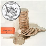 2002 Tennessee Quarter Roll - Denver Mint
