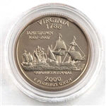 2000 Virginia Proof Quarter - San Francisco Mint