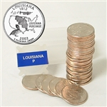 2002 Louisiana Quarter Roll - Philadelphia Mint
