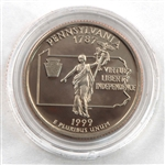 1999 Pennsylvania Proof Quarter - San Francisco Mint