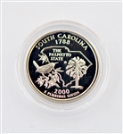 2000 South Carolina Proof Quarter - San Francisco Mint