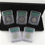 2002 Quarter Proof Set - Certified 69