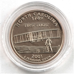 2001 North Carolina Proof Quarter - San Francisco Mint