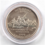 1999 New Jersey Proof Quarter - San Francisco Mint